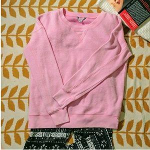 Fuzzy Warm Pink Sweatshirt
